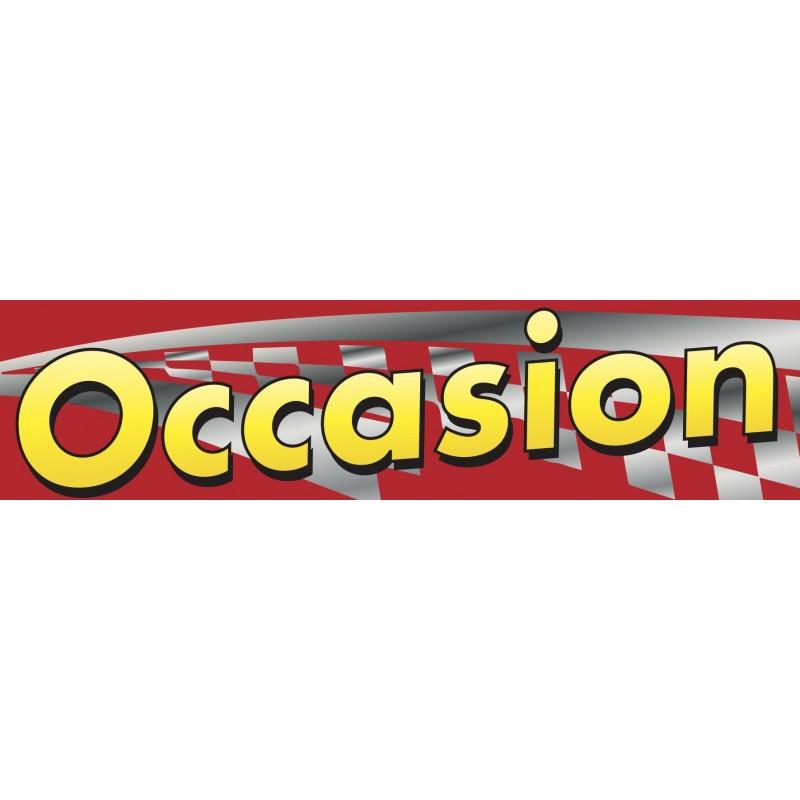Banderole OCCASION