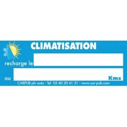 Étiquette de climatisation (lot de 250 unités)