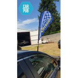 Car Flag Window : OCCASION