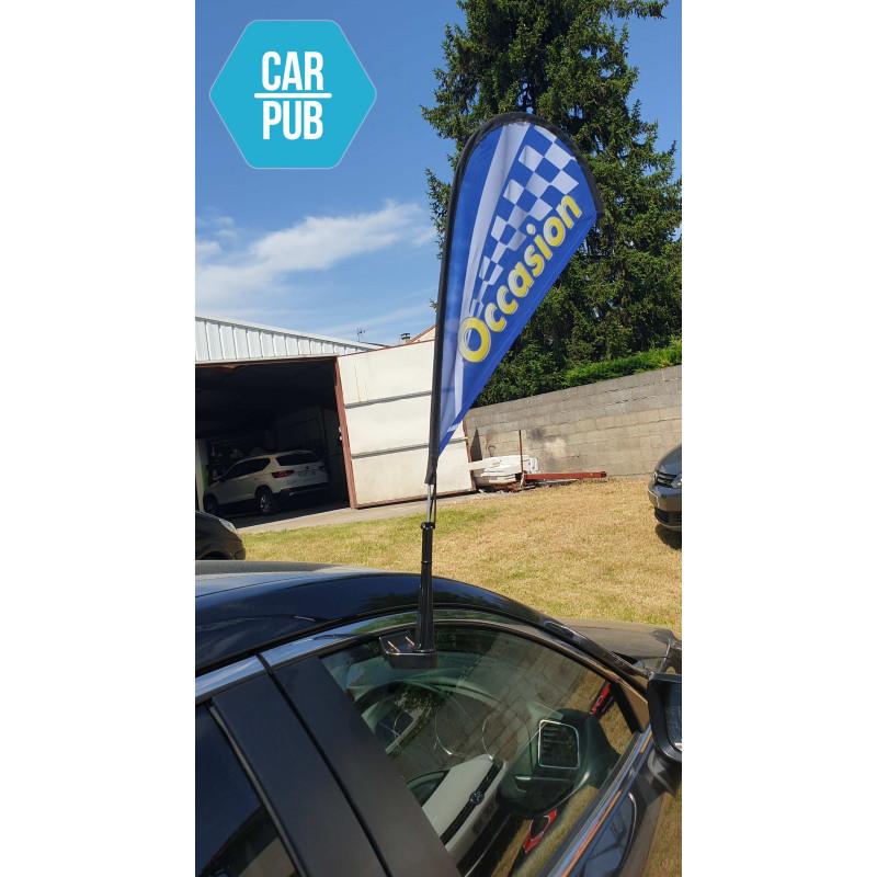 Car Flag Window : OCCASION