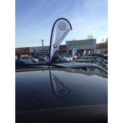 Car Flag Window : Personnalisé